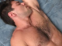 Muscle studs Booker and Solomon in blowjob scene