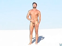Jerking In The Sand With Dominic - Dominic Pacifico