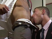 Goran Has an Steamy After Hours Affair with Marco Rubi