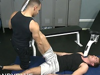 Sean and Tristan workout fuck